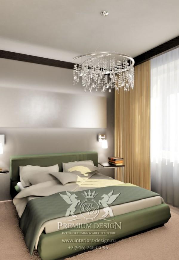 Совреенный дизайн спальни