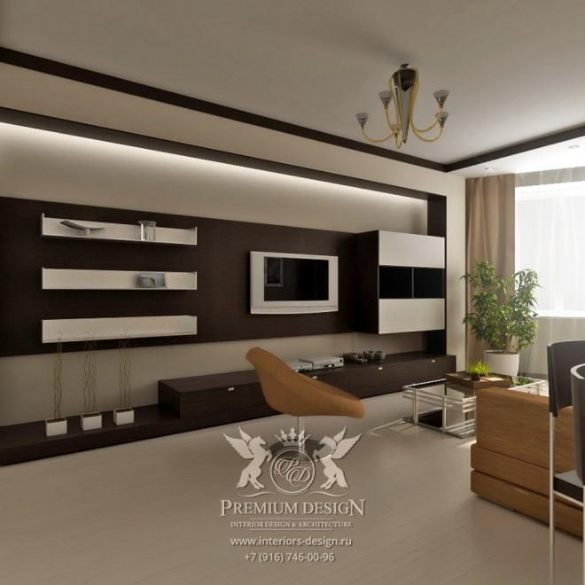 Дизайн интерьера квартиры на ул. Свободы