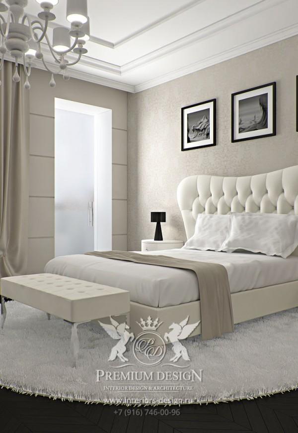 Дизайн светлой спальни