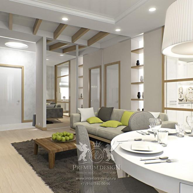 Дизайн квартиры на Академика Туполева 2
