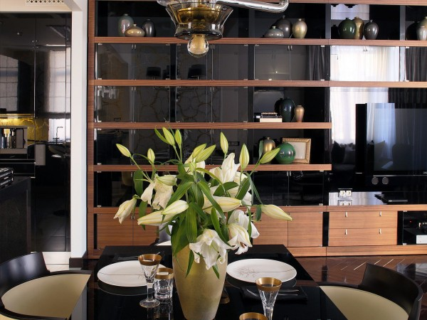 Дизайн столовой в частном доме фото