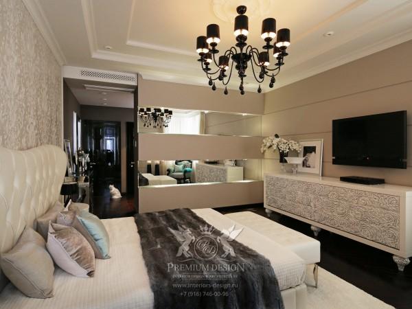 Дизайн спальни в светлых тонах