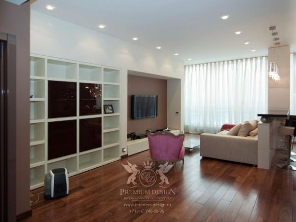 Дизайн гостиной в светлых тонах фото