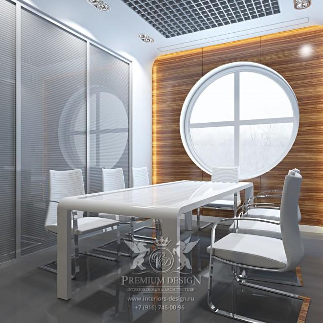 Дизайн интерьера офиса Газманова