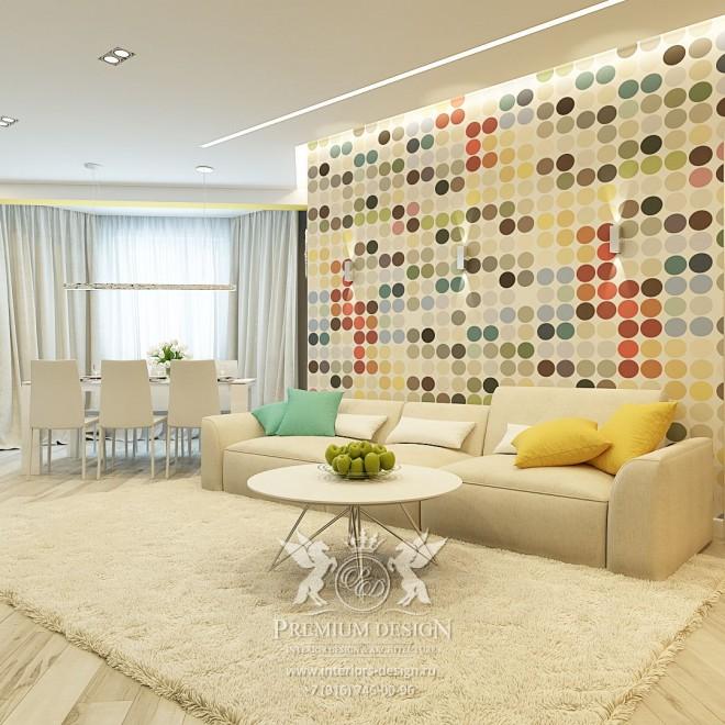 Дизайн квартиры на Дмитровской