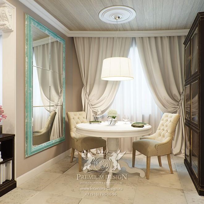 Дизайн квартиры в Отрадном