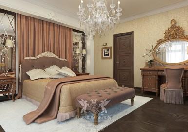 Дизайн спальни в квартире. Фото