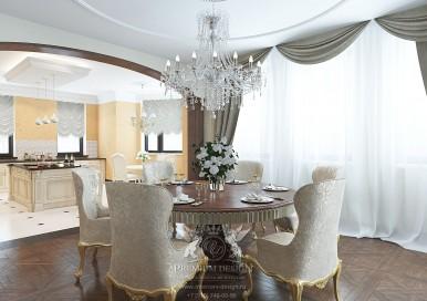 Дизайн интерьера столовой 2016