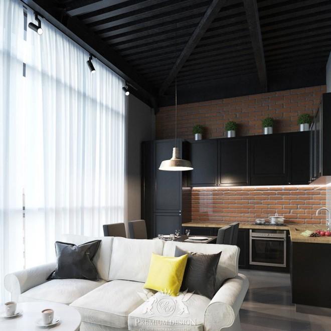 Дизайн квартиры на улице Бауманская 2