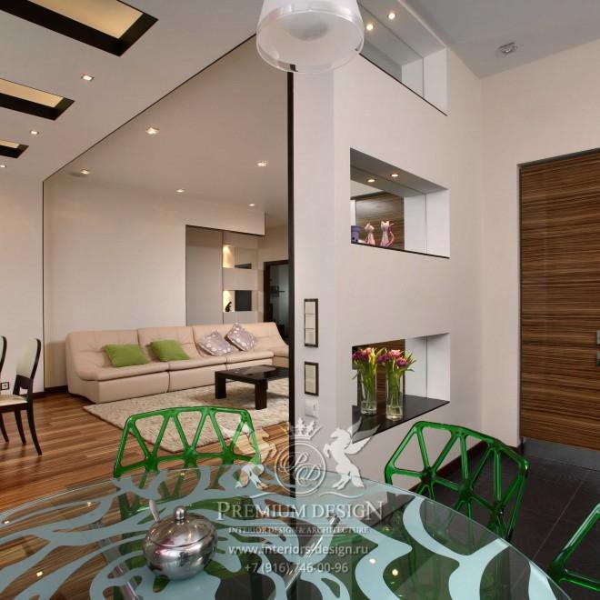 Дизайн квартиры в духе 2000-х. Метро Беляево