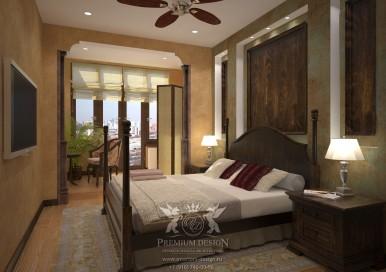 Дизайн современной спальни. Фото