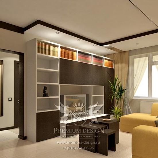 Дизайн интерьера типовой квартиры на улице Новаторов