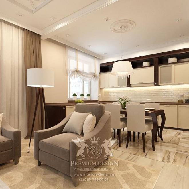 Дизайн квартиры в Строгино