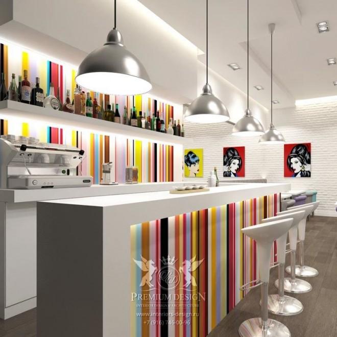 Дизайн кафе на Таганке